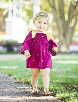 Masalababy Galaxy Plum Dress