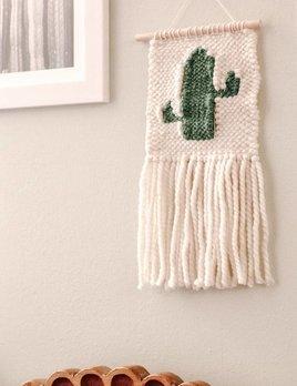 Little Avocado Baby Cactus Macrame Green