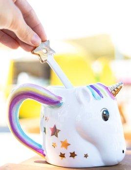 Twos Company Unicorn Mug