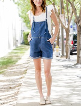 Sage the Label Blue Baby Overall