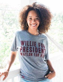 Tumbleweed Texstyles Tumbleweed Texstyles - Willie For President Tee