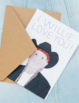 Tay Ham Willie Love You Card
