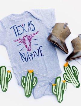 Livy Lu Texas Native Onesie