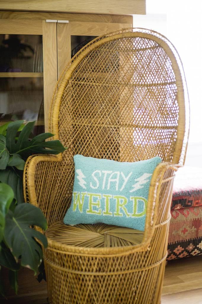 Peking Handicraft Stay Weird Pillow