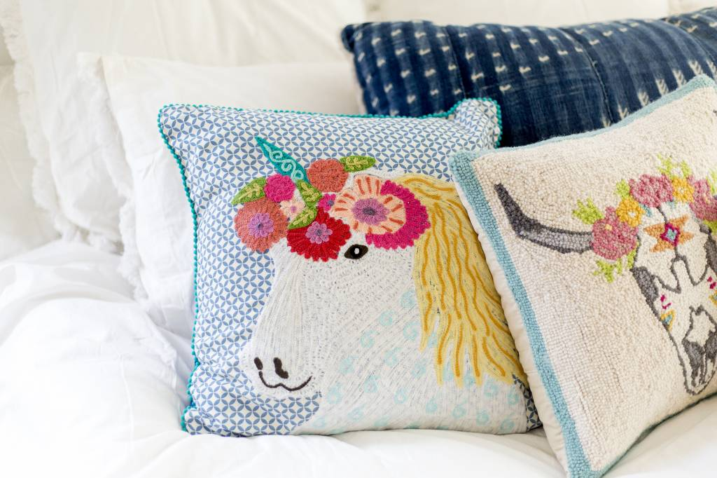 Karma Living Unicorn Pillow ...