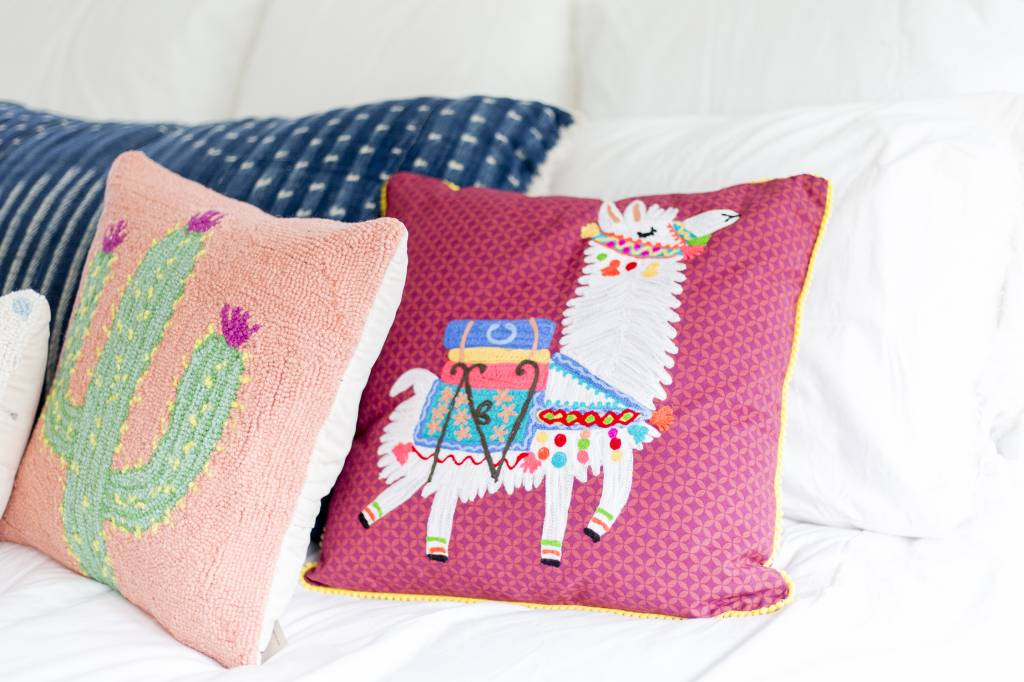 Karma Living Llama Pillow ...