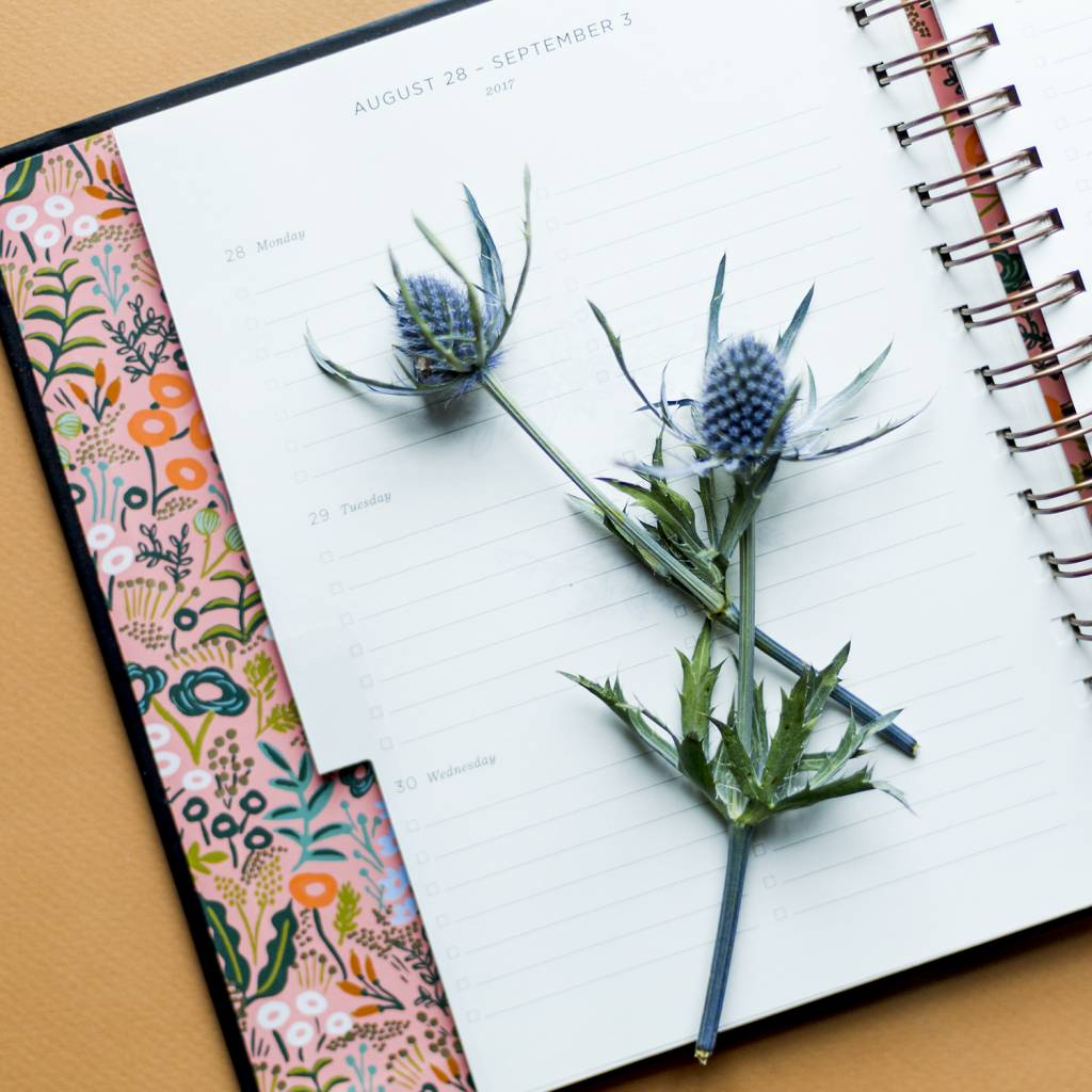 Rifle Paper Co 2018 Floral Foil Agenda