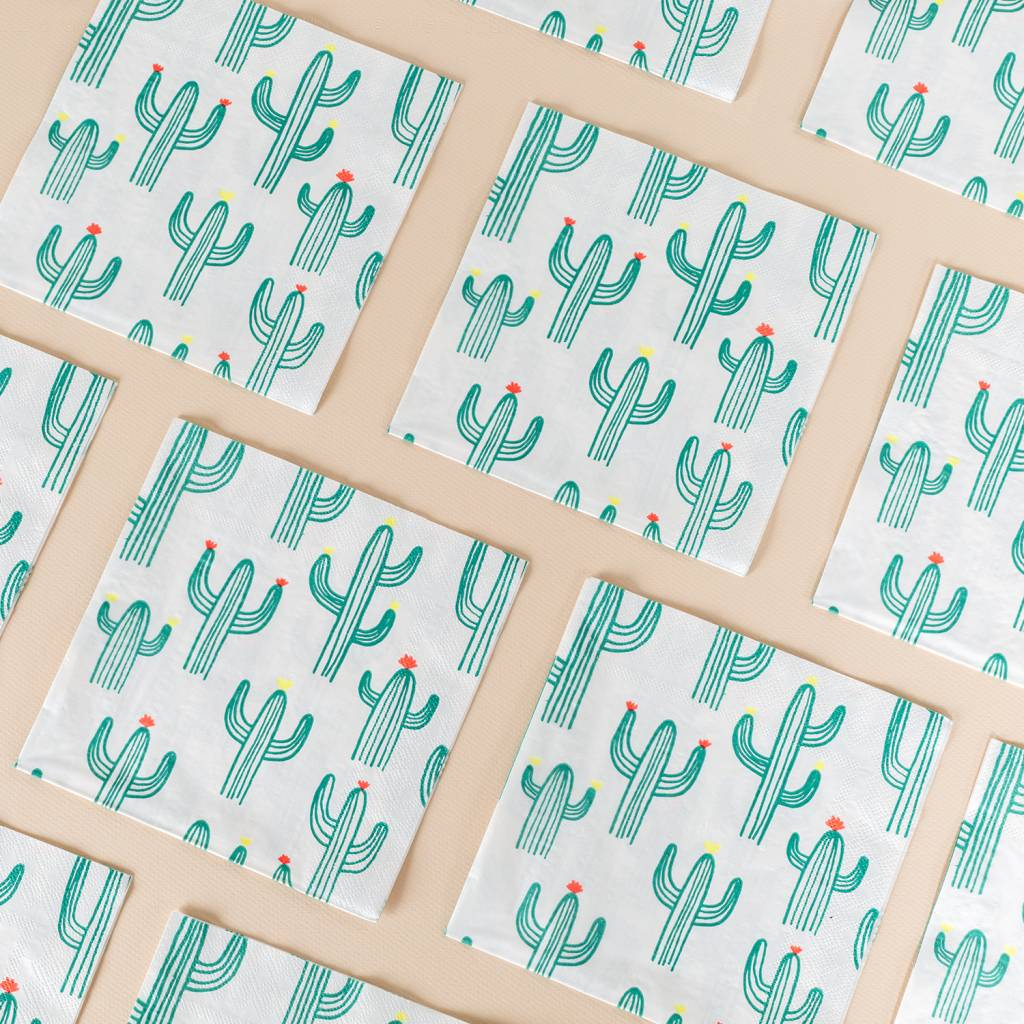 Meri Meri Cactus Napkins