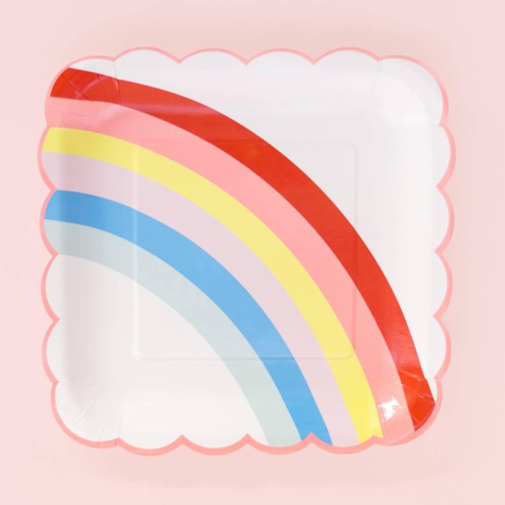 Meri Meri Rainbow Plate