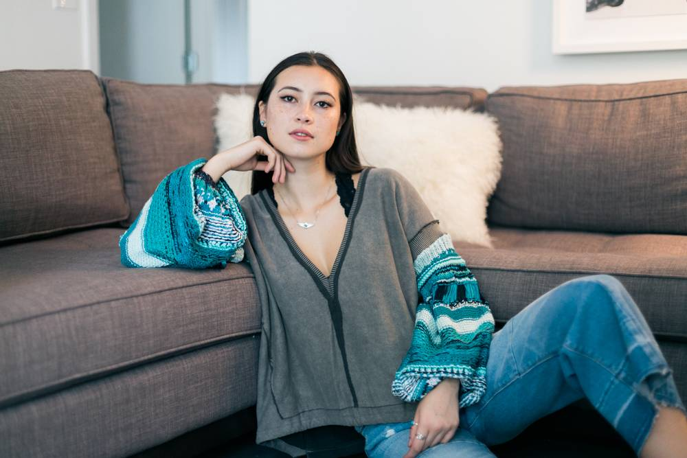 Free People Reminiscent Sweater