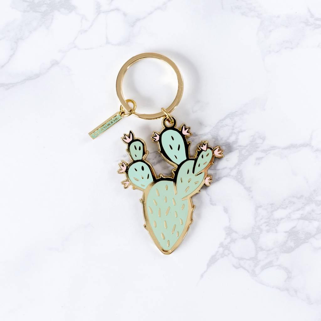 Idlewild Co Prickly Pear Keychain