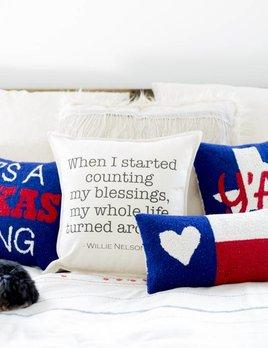 Peking Handicraft Its A Texas Thing Pillow