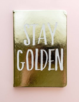 Eccolo Stay Golden Journal