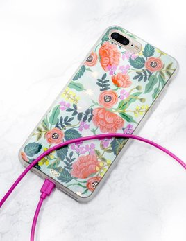 Rifle Paper Co Mint Birch iPhone Case Universal Plus