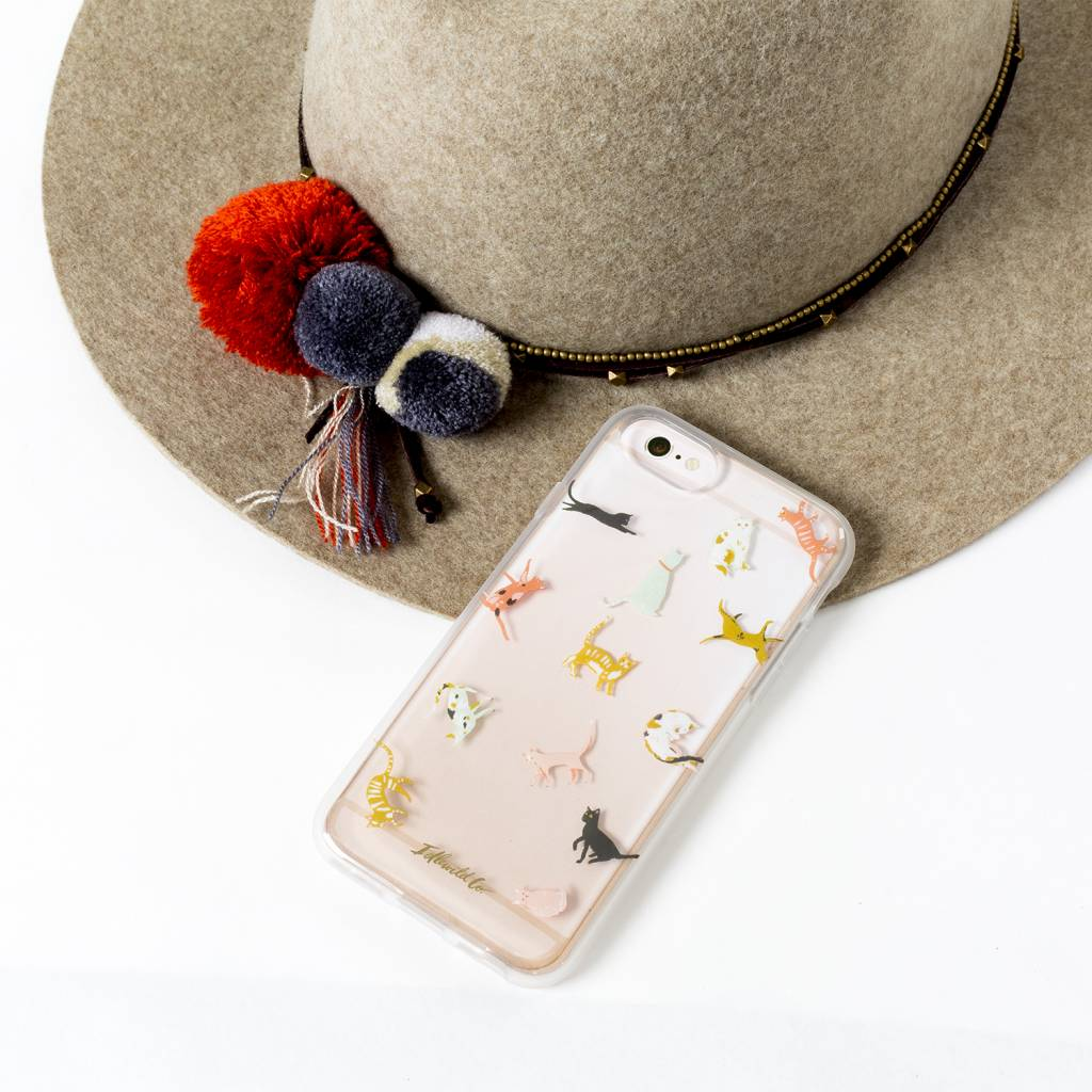 Idlewild Co Tiny Cats Phone Case
