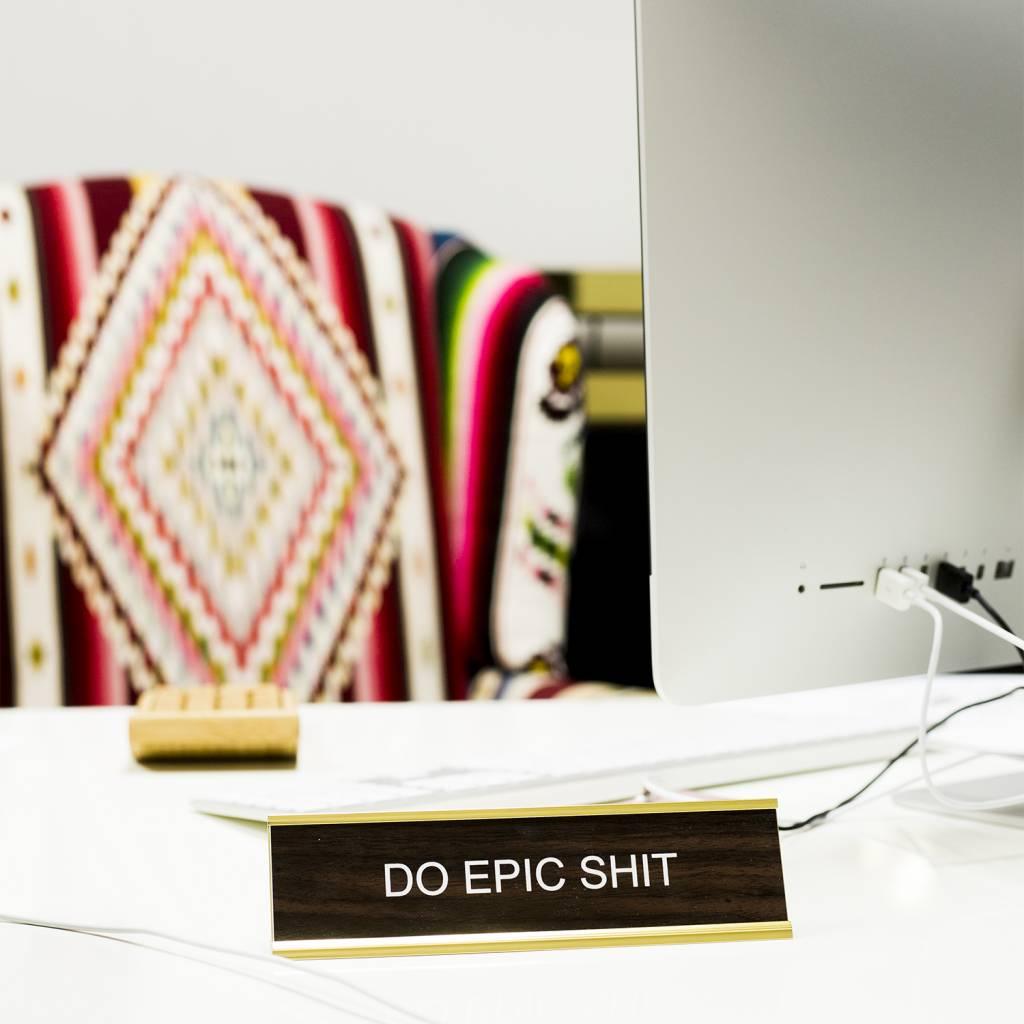 He Said She Said Office Signs