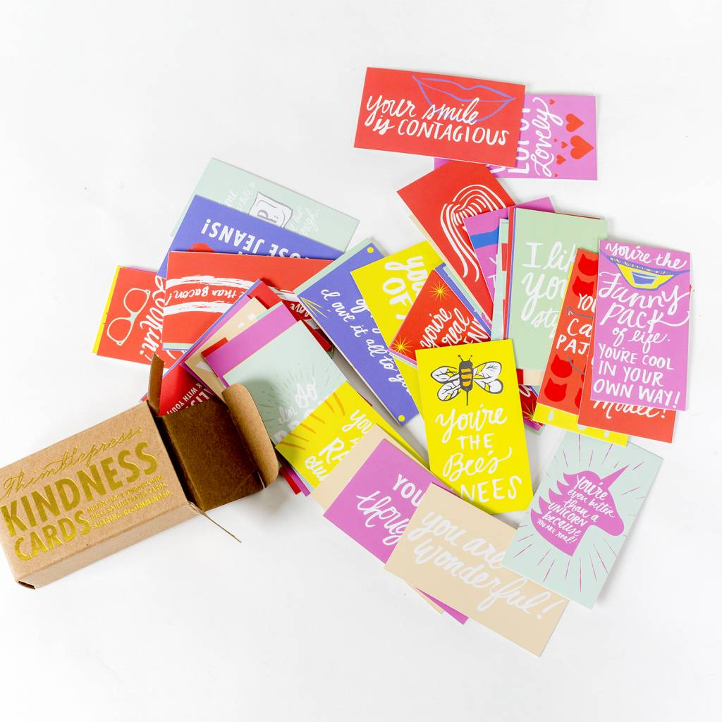 Thimblepress Kindness Cards