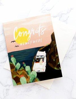 Idlewild Co Honeymooners Card
