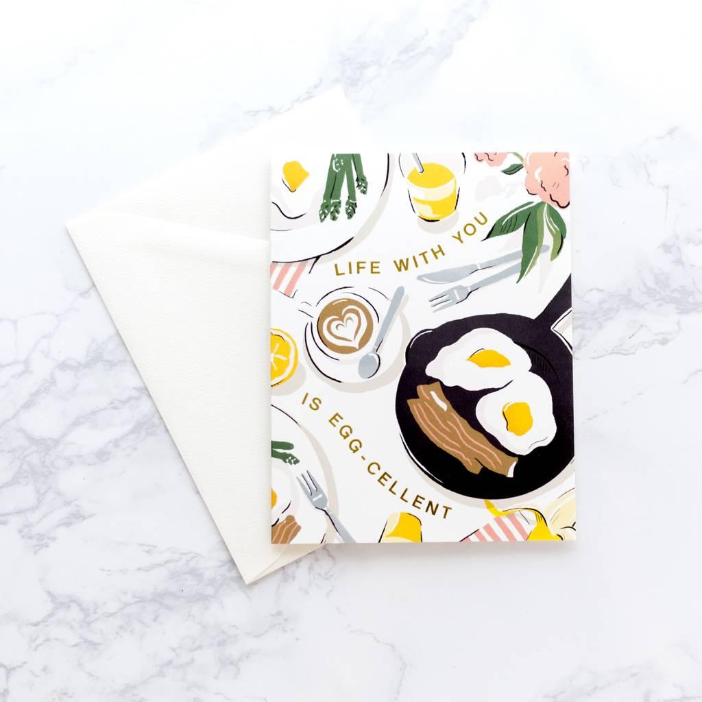 Amy Heitman Eggcellent Card