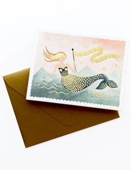 Rifle Paper Co Mermaid Box Notes