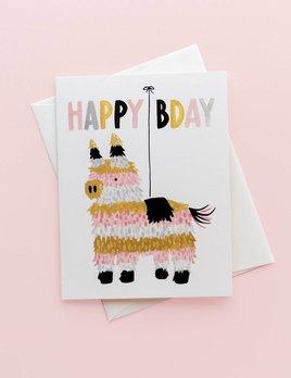 Idlewild Co Piñata Birthday Card