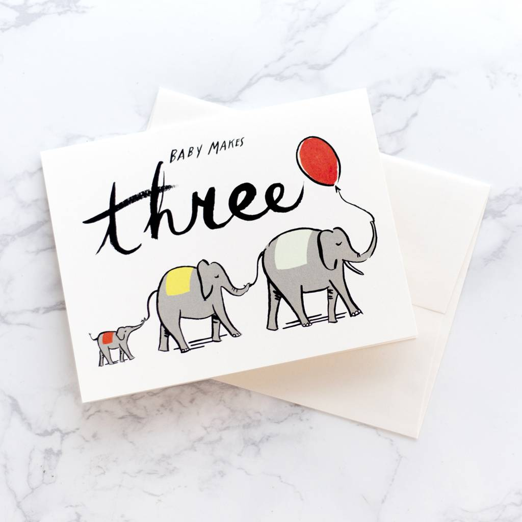Idlewild Co Baby Makes Three Card