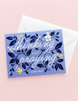 Amy Heitman Thinking and Praying Card