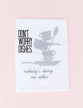 Missy Madewell Dishes Hang Tight Towel