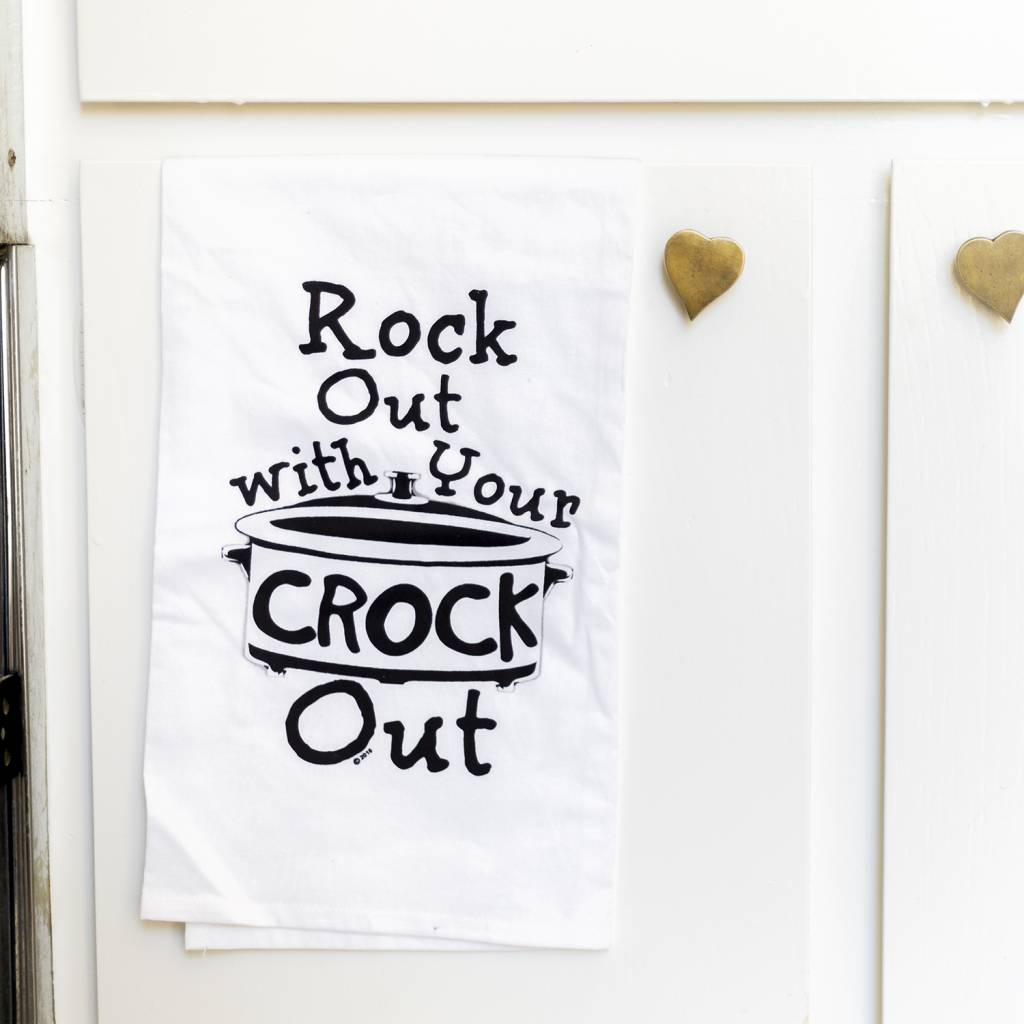 Missy Madewell Rock Out Hang Tight Towel