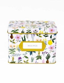 Rifle Paper Co Herb Garden Recipe Box