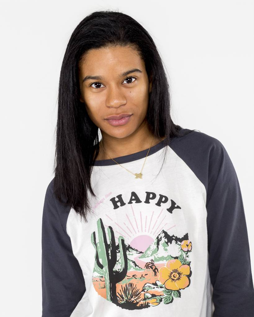 Bando Happy Baseball Tee