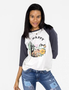Bando Bando - Happy Baseball Tee