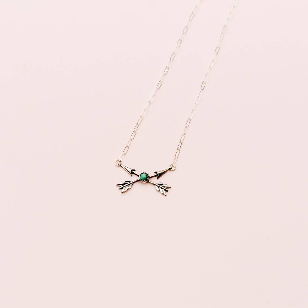 Richard Schmidt Richard Schmidt Crossed Arrows Necklace
