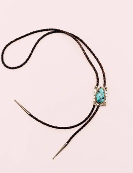 Richard Schmidt Turquoise and Spiney Bolo