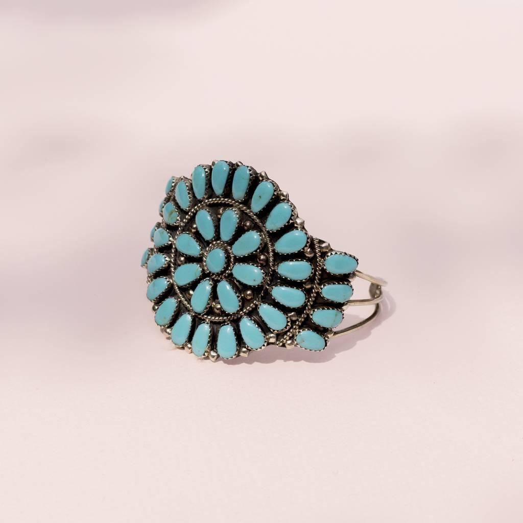 Saguaro and Co Zuni Turquoise Cuff