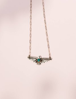 Richard Schmidt Thunderbird Necklace