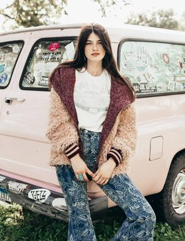 Free People Free People - Fluffy Dolman Jacket