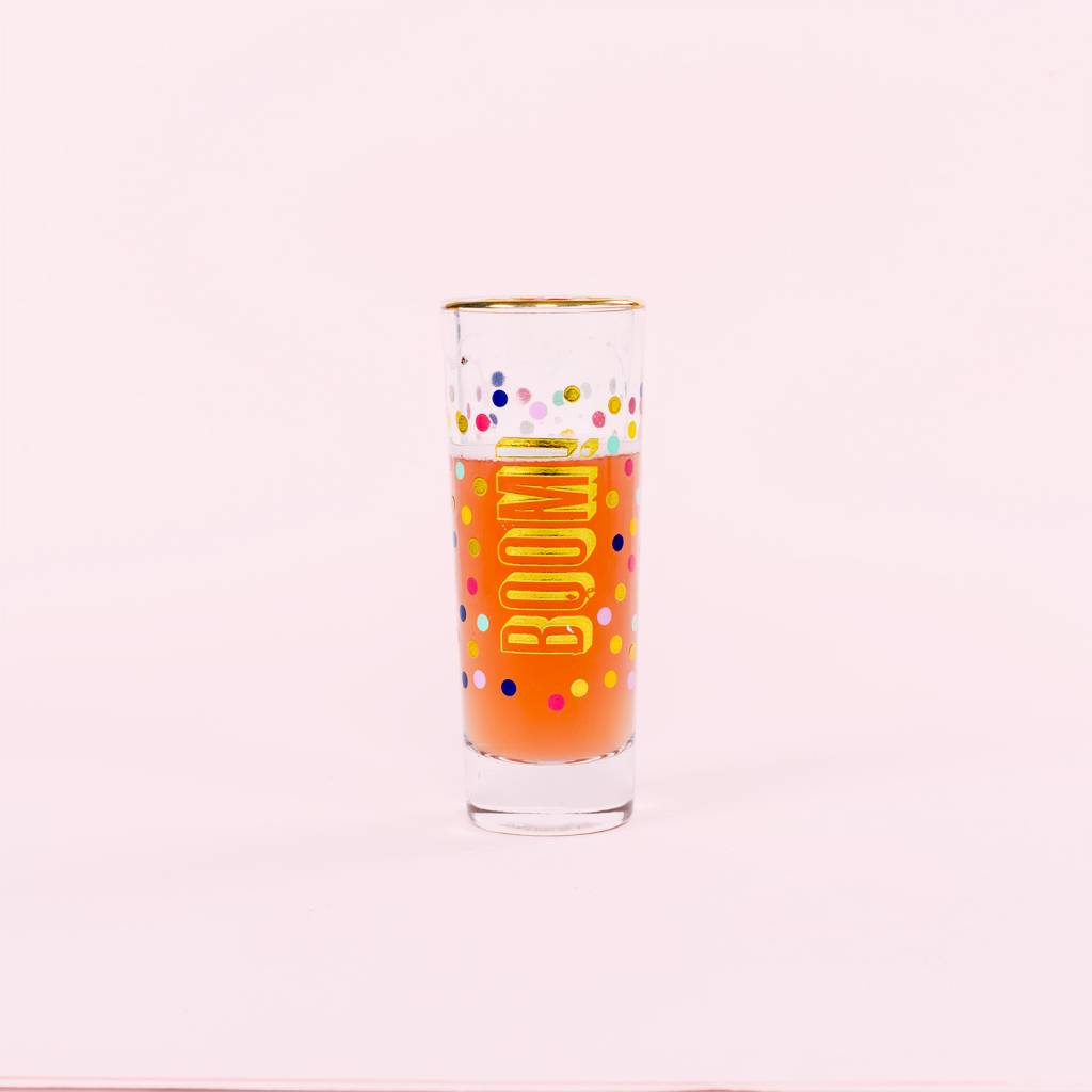 Slant Collections Boom Shot Glass