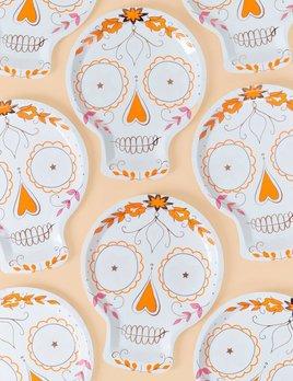 Meri Meri Sugar Skull Plates
