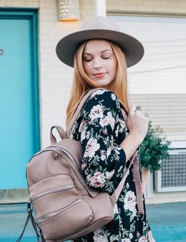 Moda Luxe Justice Backpack Blush