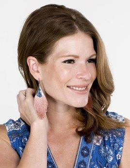 Nakamol Designs Metal Fringe Earring