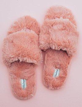 PJ Salvage Fur Slipper
