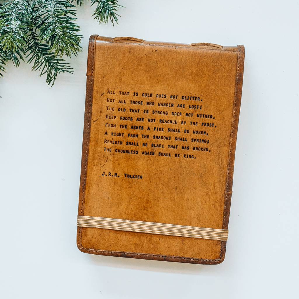 Sugarboo Designs J.R.R. Leather Journal