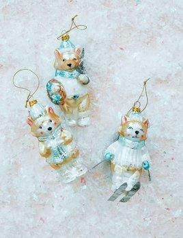 One Hundred 80 Degrees Skiing Bear Ornament
