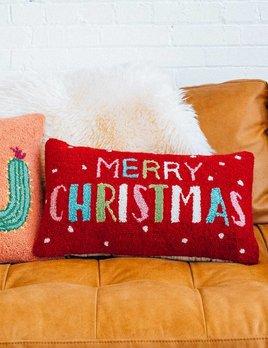 Peking Handicraft Merry Christmas Pillow