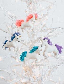 Twos Company Colorful Unicorn Ornament