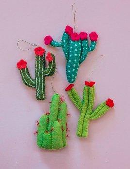 Roost Felt Cactus Ornament