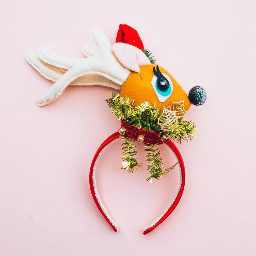 One Hundred 80 Degrees Felted Holiday Headband