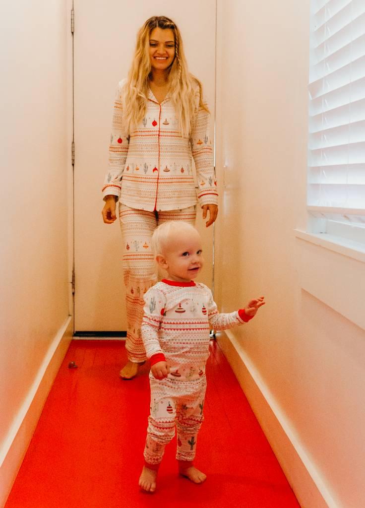 Bedhead Pajamas Kids Cactus Fair Isle PJ