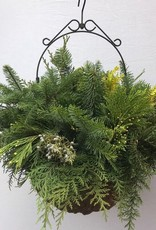 Hanging Holiday Basket SM